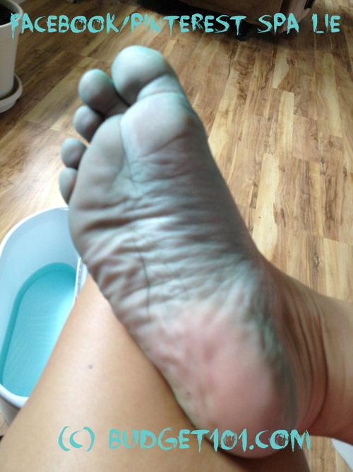 Facebook Pinterest Foot Spa Recipe Lie