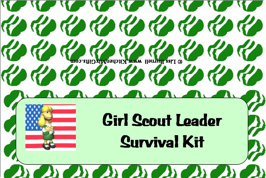 girl scout leader survival kit - downloads