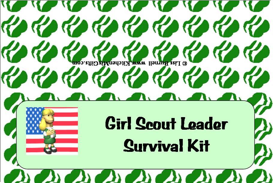 Girl Scout Leader Survival Kit - Downloads - Budget101.com
