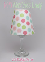 wine glass lampshade template downloads budget101