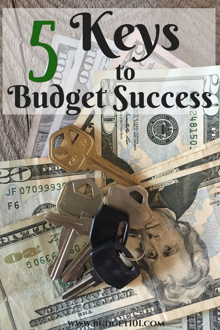 5 Keys to Successful Budgeting that any family can follow