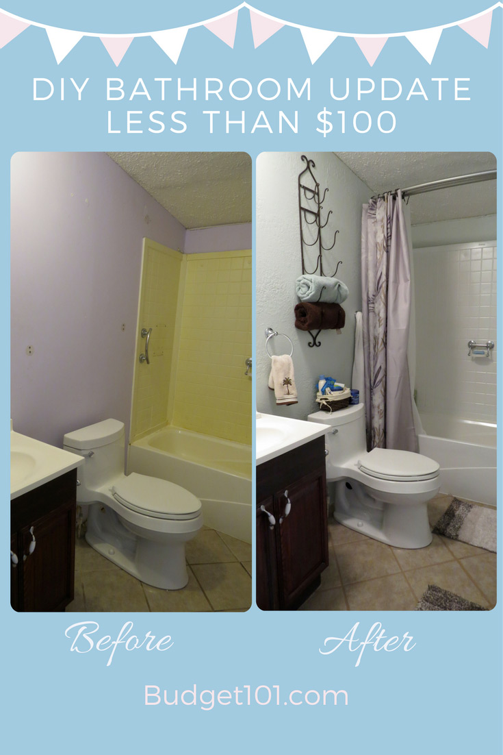 How to transform your bathroom under $100