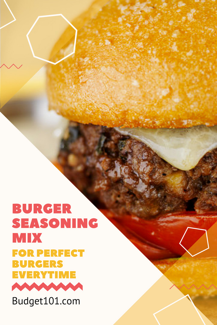 Expertly blended Season Mix for Perfect Burgers Every Single Time