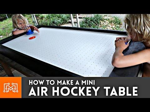 Mini Air Hockey Table // How-To | I Like To Make Stuff