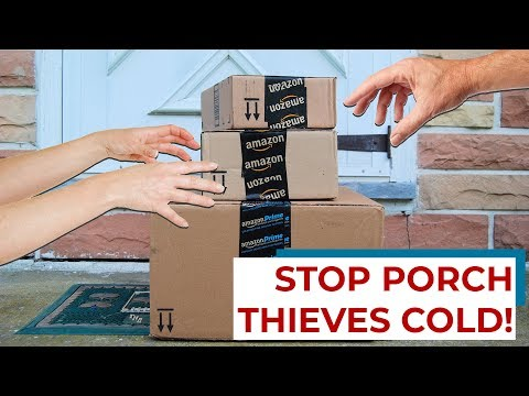 6 tricks to keep your packages from being stolen by porch thieves!