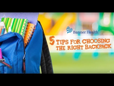 Kids Tips: Choosing the Right Backpack for Your Child