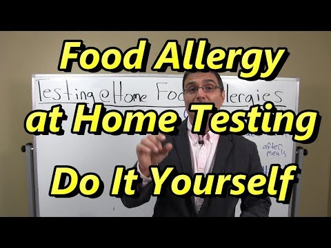Food Allergy Testing at Home–Do It Yourself with Dr. Rob