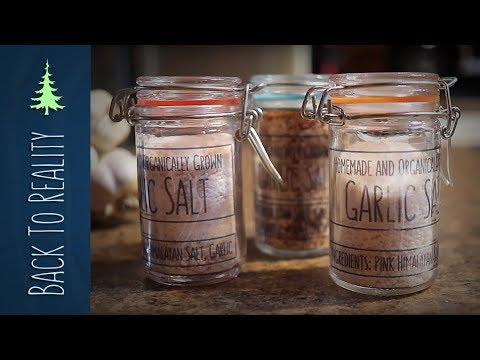 How to Make EASY Garlic Salt (using fresh garlic)