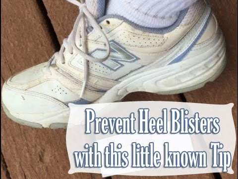Budget101.com How to Tie your Sneakers to avoid Blisters