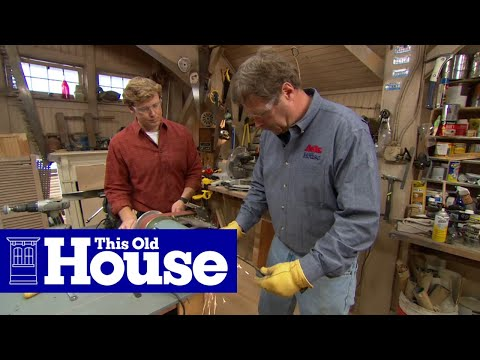 How to Sharpen a Lawn Mower Blade | This Old House