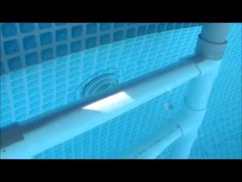 Intex Pool and PVC Ladder
