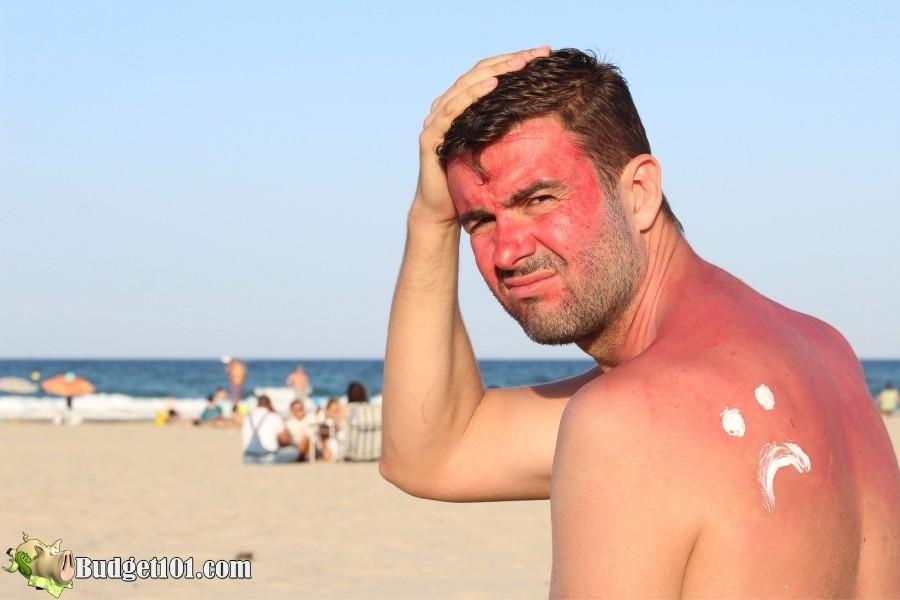 ways to alleviate sunburn fast