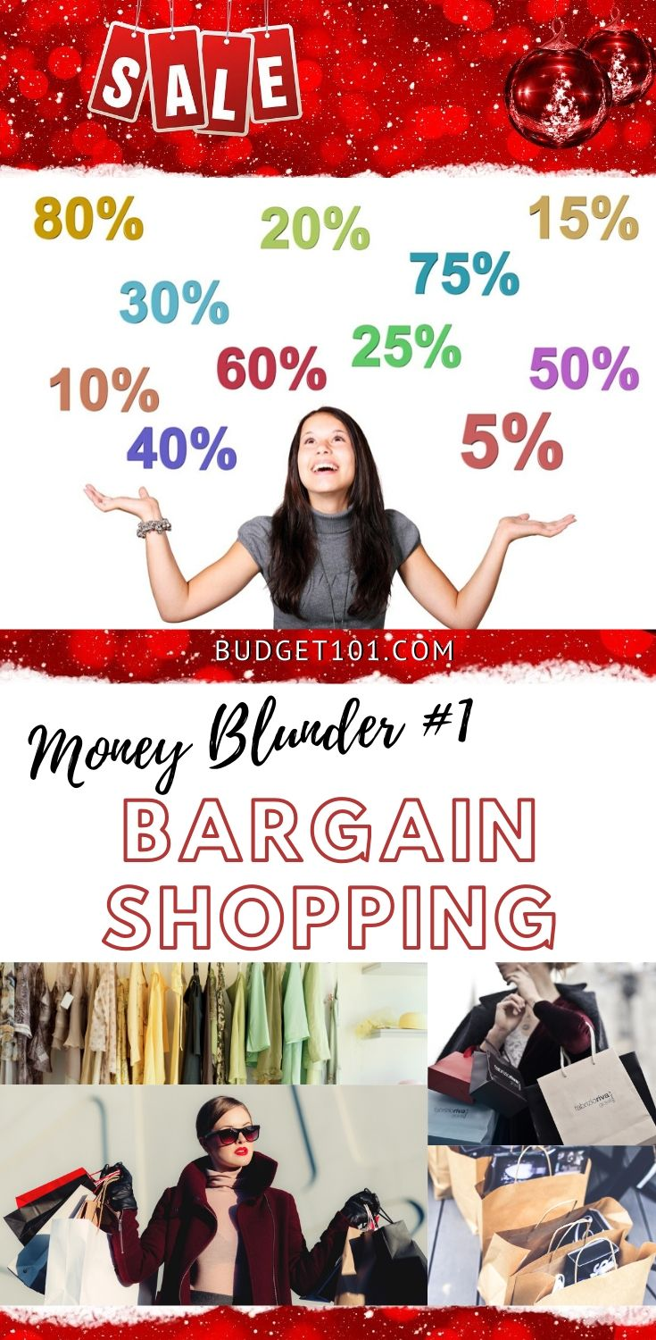 Bargain Shopping Blunders to Avoid