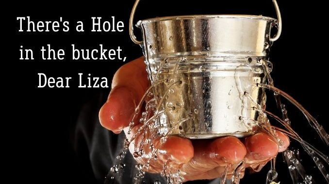 b101 hole in bucket dear liza