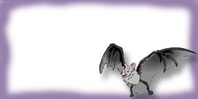 Harry Potter Bat Tag