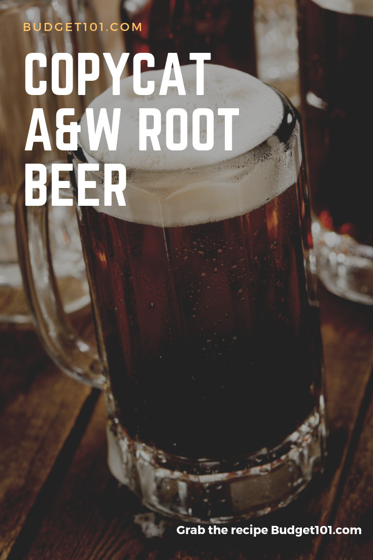 Almost A&W Root Beer