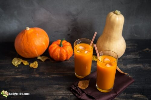 b101 pumpkin juice recipe