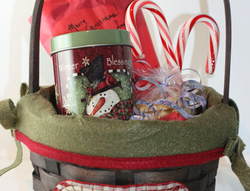 cookie monster family gift basket idea