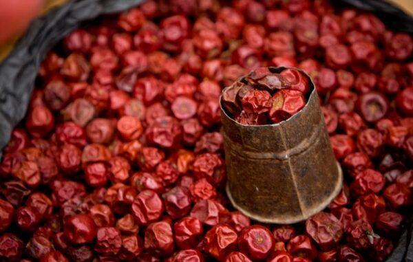 dried cherry pie