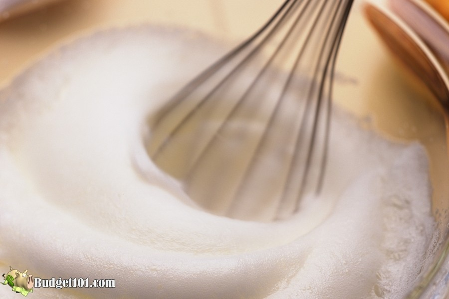 whipped eggs