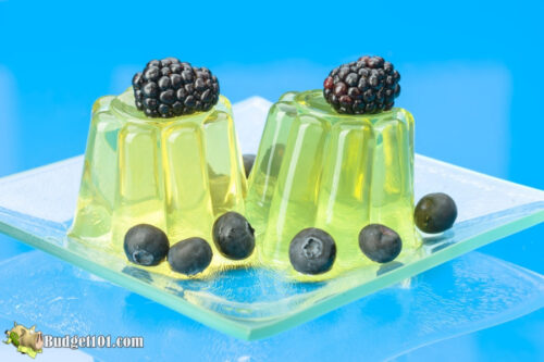 b101 lemon gelatin