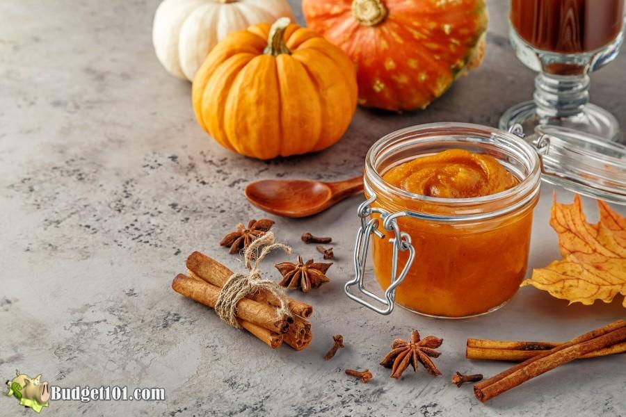 Microwave Honey Pumpkin Butter - Budget101.com