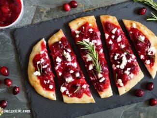 cranberry flatbread