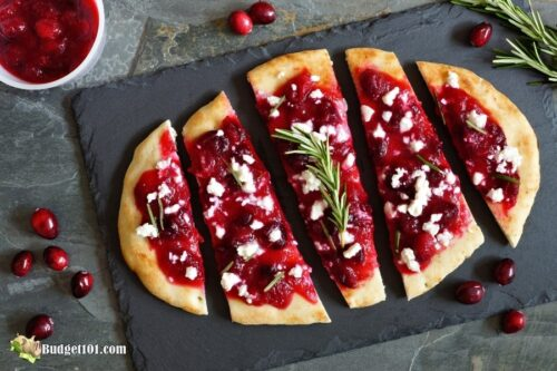 cranberry flatbread