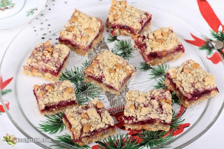 cranberry peanut bars