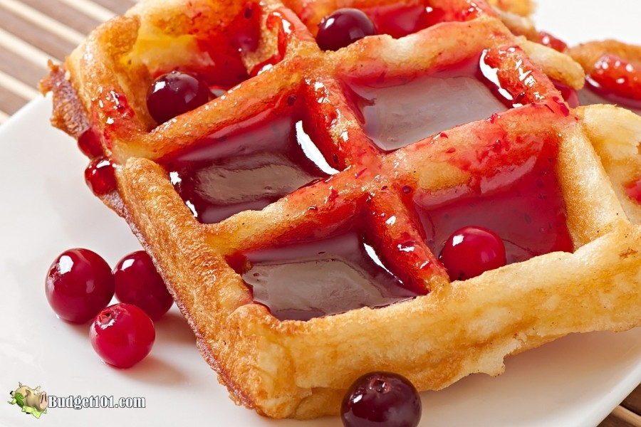 cranberry waffle sauce