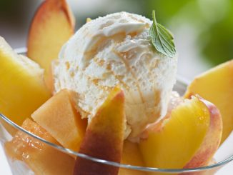 B101 Copycat Ben & Jerrys Georgia Peach Ice Cream
