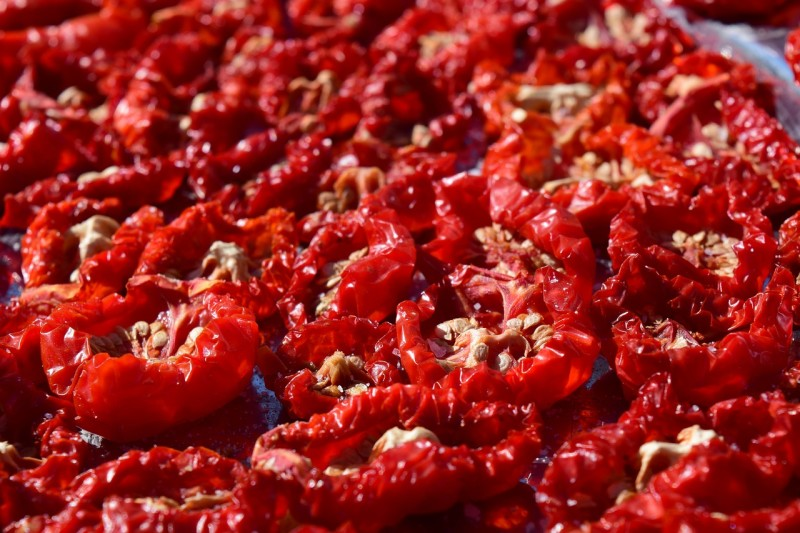 homemade sun-dried-tomatoes