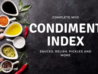 b101 condiments index