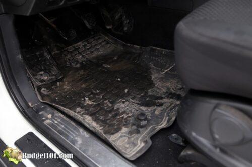 b101 vehicle floormat cleaner before 1