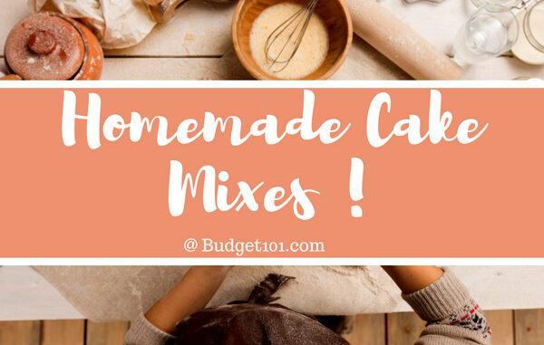 make your own cake mixes