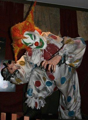Clown Halloween costume idea