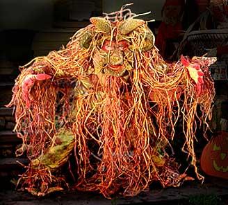 creature Halloween costume idea