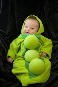 pea pod halloween costume idea