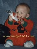 Pumpkin costume Idea for Infants