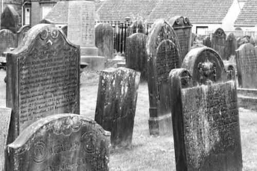outdoor haunted cemetery scent