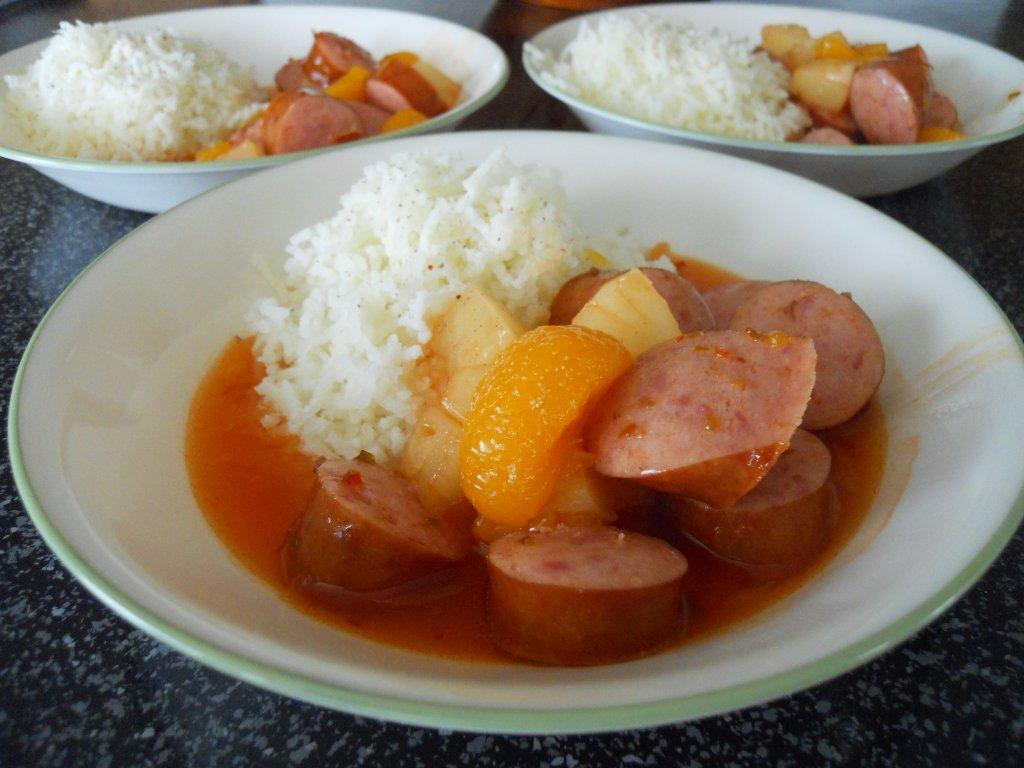 sweet-and-sour-kielbasa