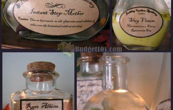 Witches Apothecary Chest