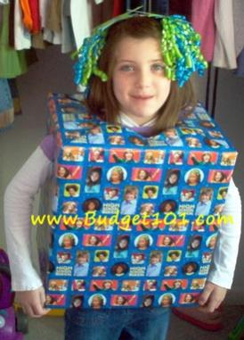 birthday present costume