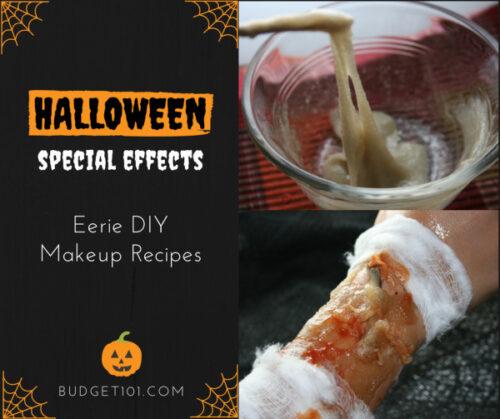 happy halloween make up recipes