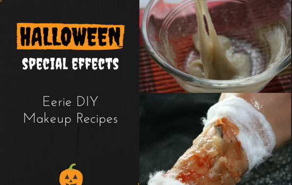 happy halloween make up recipes
