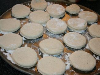 Homemade Make ahead biscuits