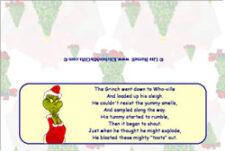 grinch fart poem