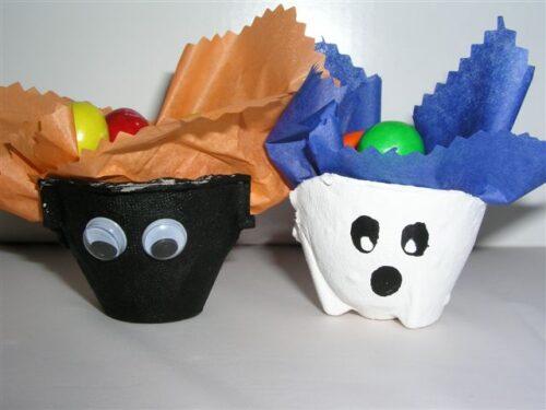 halloween treat cups