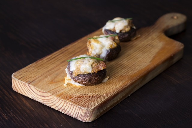 b101 crab stuffed mushrooms