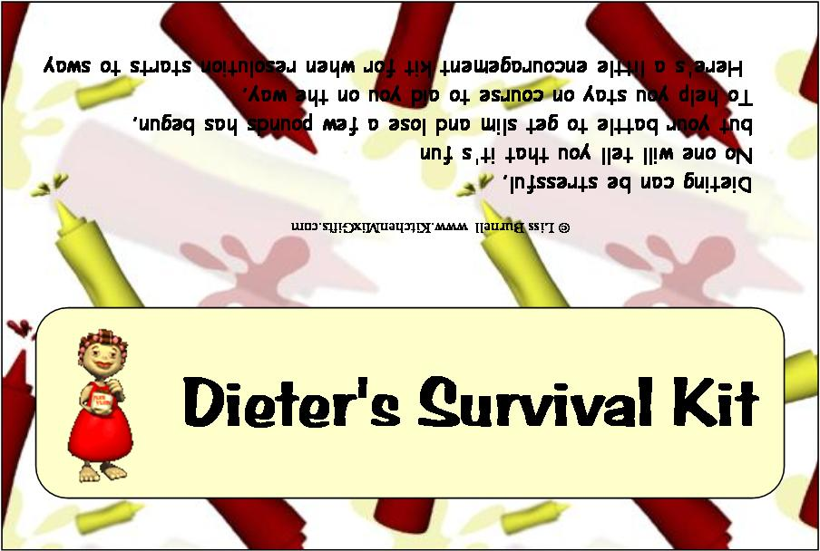 dieters-survival-kit